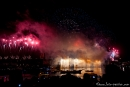 Silvesterfeuerwerk an der Harbour Bridge