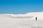 Wir erkunden die weiße Dünenlandschaft