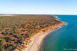Die Küste des Francois Peron NP gehört zu den farblichen Höhepunkten des Kontinents