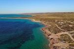 Das Riff reicht fast bis zum Strand - Cape Range NP
