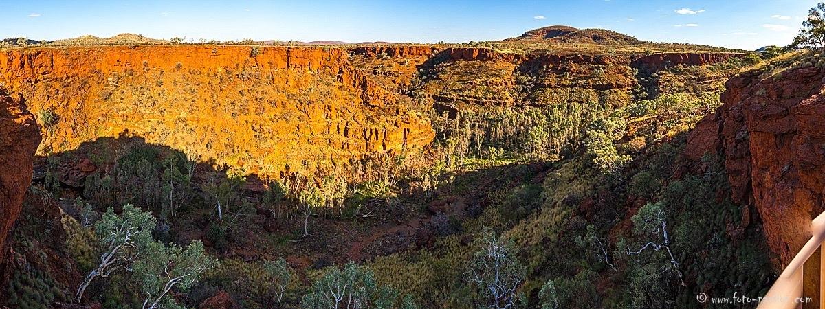 Blick in die Dales-Gorge