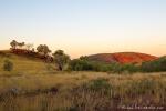 Die Pilbara glüht rot im Abendlicht