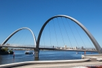Brücke am Elizabeth Quay