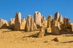 Bizarr geformte Kalksteinsäulen