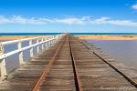 1,5 km langer Pier in Carnarvon