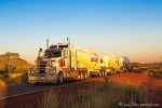 Road Train mit 18 Achsen