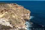 Die zerklüftete Steilküste des Kalbarri NP