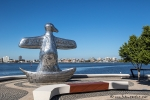 Am Elizabeth Quay in Perth