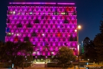 Farbenfreudige Illumination in Perth