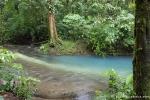 Wasserscheide des Rio Celeste im Tenorio NP