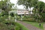 Garten des Hotels Bougainvillea