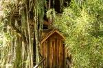 Eingang zum verwunschenen Baumhaus