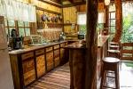 Küche im Baumhaus