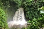 Wasserfall am Vulkan Arenal