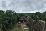 Blick auf die Caiman Eco Lodge