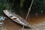 Kanu eines Einheimischen