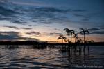 Sonnenuntergang in der großen Lagune