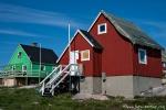 Bunt gegen Wintertristesse - Haus in Ilulissat