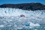 Ziemlich beeindruckend - der Eqi-Gletscher