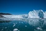 Ein gigantischer Gletscher - Eqi-Gletscher