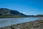 Der Gletscherbach ist zu einem reißenden Strom geworden - Kangerlussuaq