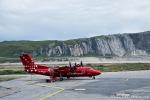 Kleine Propellermaschine für den Inlandflug