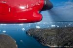 Im Landeanflug auf Ilulissat