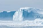 Eisberg nach einem Abbruch