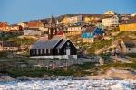 Die Zionskirche im Abendlicht - Ilulissat