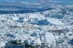Unmengen von Gletschereis