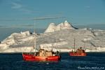 Mitternacht zwischen den Eisbergen