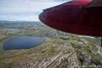 Wenn nicht Eis, dann bestimmen Seen und Berge die Küstenlandschaft Grönlands