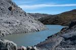 Schmelzwasserfluss der vom Inlandeis gespeist wird