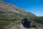 Kangerlussuaq wird von hohen Bergen flankiert
