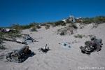 Fünf solcher Maschinen liegen um Kangerlussuaq verstreut