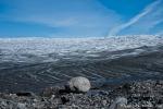 Am Rand des Inlandeises. Der Grönländische Eisschild bedeckt mit 1,7 Millionen km² noch etwa 82 Prozent der Landfläche von Grönland.