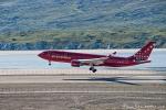 Im Landeanflug auf Kangerlussuaq