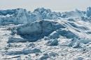 100.000 bis 200.000 Jahre altes Eis - Kangia-Fjord