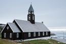 Die alte Zionskirche in Ilulissat