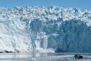 Wieder kalbt der Gletscher ein wenig - Eqi-Gletscher