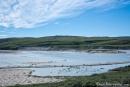 Der nördlichste 18-Loch-Golfplatz ist ein wenig nass geworden - Kangerlussuaq