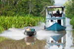 Reger Verkehr auf dem Sekonyer-River