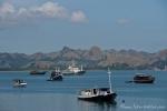 Blick auf den Hafen von Labuhan Bajo
