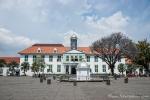Der Platz Taman Fatahillah mit dem Jakarta History Museum