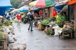 Regionaler Markt im Nordwesten von Sulawesi