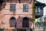 Schade um den schlechten Zustand der schönen Gebäude