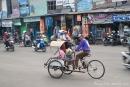 Im Straßenverkehr von Surabaya