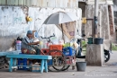 Mobile Essensstände findet man überall