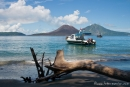 Blick auf den Anak Krakatau