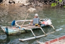 Einheimischer Fischer